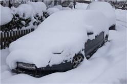 Türschloss gefroren