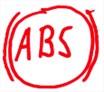 ABS Leuchte