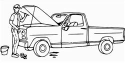 Auto Ölstand