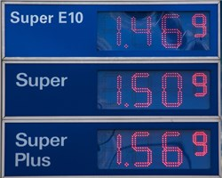 Benzinsparend fahren
