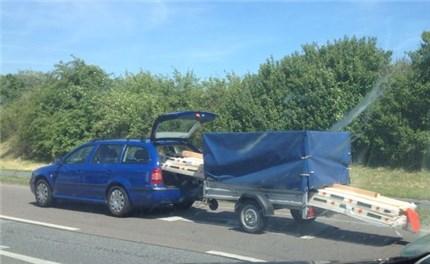 Ikea Anhänger ladungsüberstand bei einem pkw anhänger – das ist möglich
