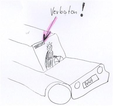 Fahren ohne Kennzeichen