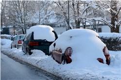Autowaschen Winter