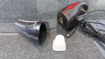 Schmutzbehälter und Filter