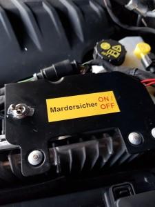 Marderschreck Schalter